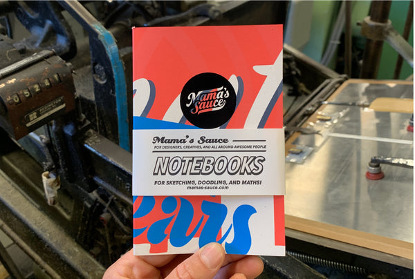3-Pack of Mama's Sprint 2019 Test Print Notebooks