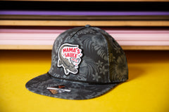 Tropic Gator Gray Wicking Hat