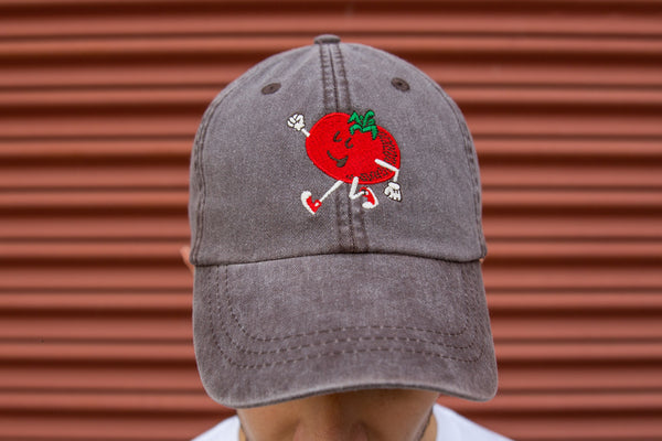 Marching Tomato Dad Hat