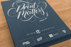 #PrintMatters Event Poster - Austin, TX
