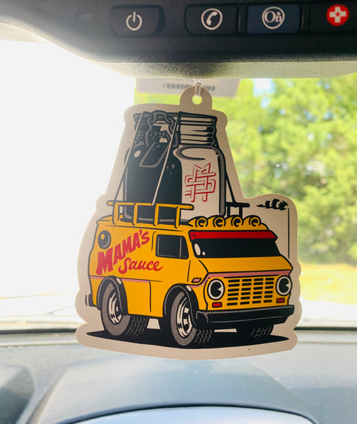 Saucemobile Rearview Hanger