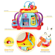 Load image into Gallery viewer, WolVol Educational Kids Toddler Baby Toy Musical Activity Cube