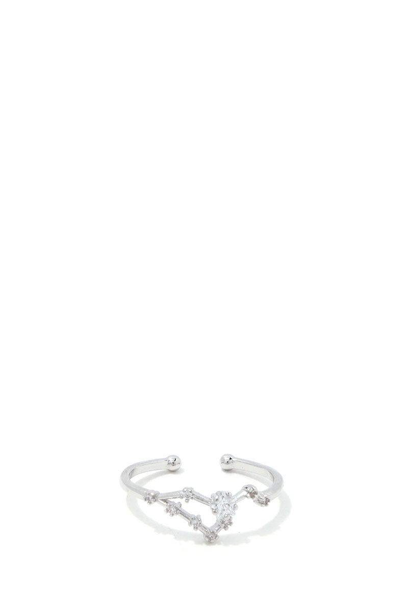 Leo Constellation Star Ring