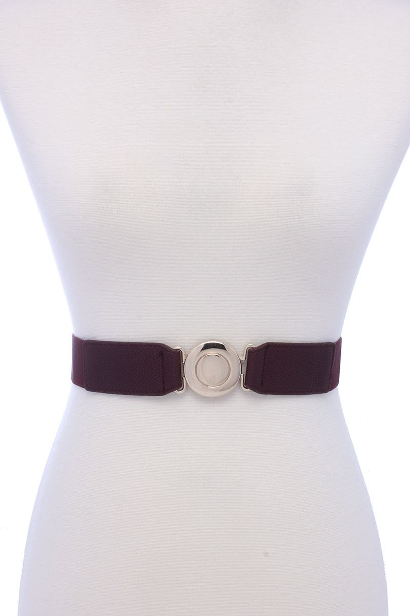Metal Buckle Elastic Belt
