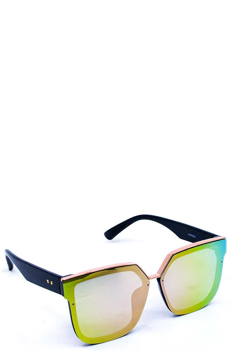 Hipster Square Frame Sunglasses