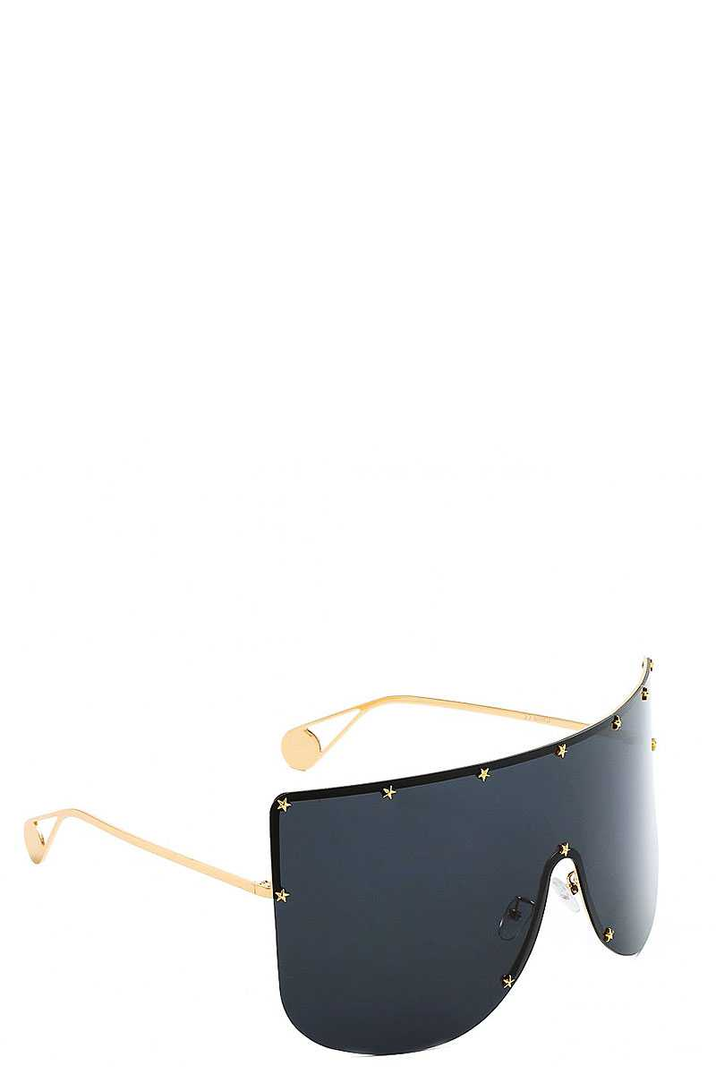 Stylish Star Accent Tint Sunglasses