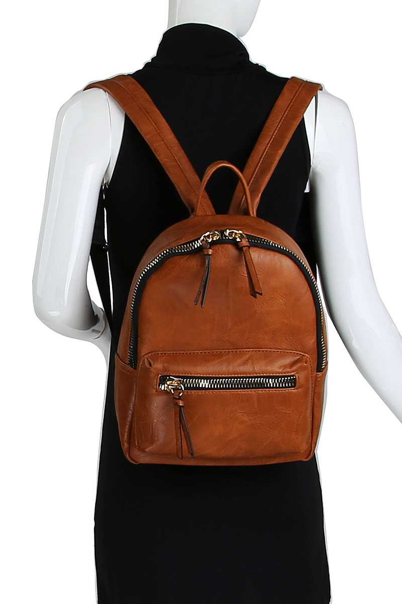 2in1 Fashion Cute Stylish Backpack With Matching Wallet