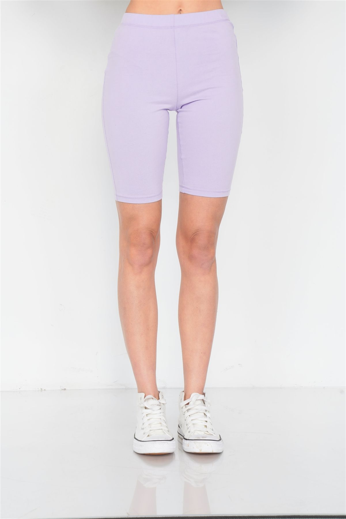 Stretchy Athletic Biker Shorts