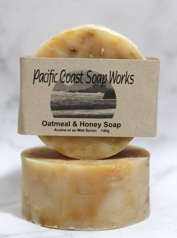 Oatmeal and honey soap bar 140g