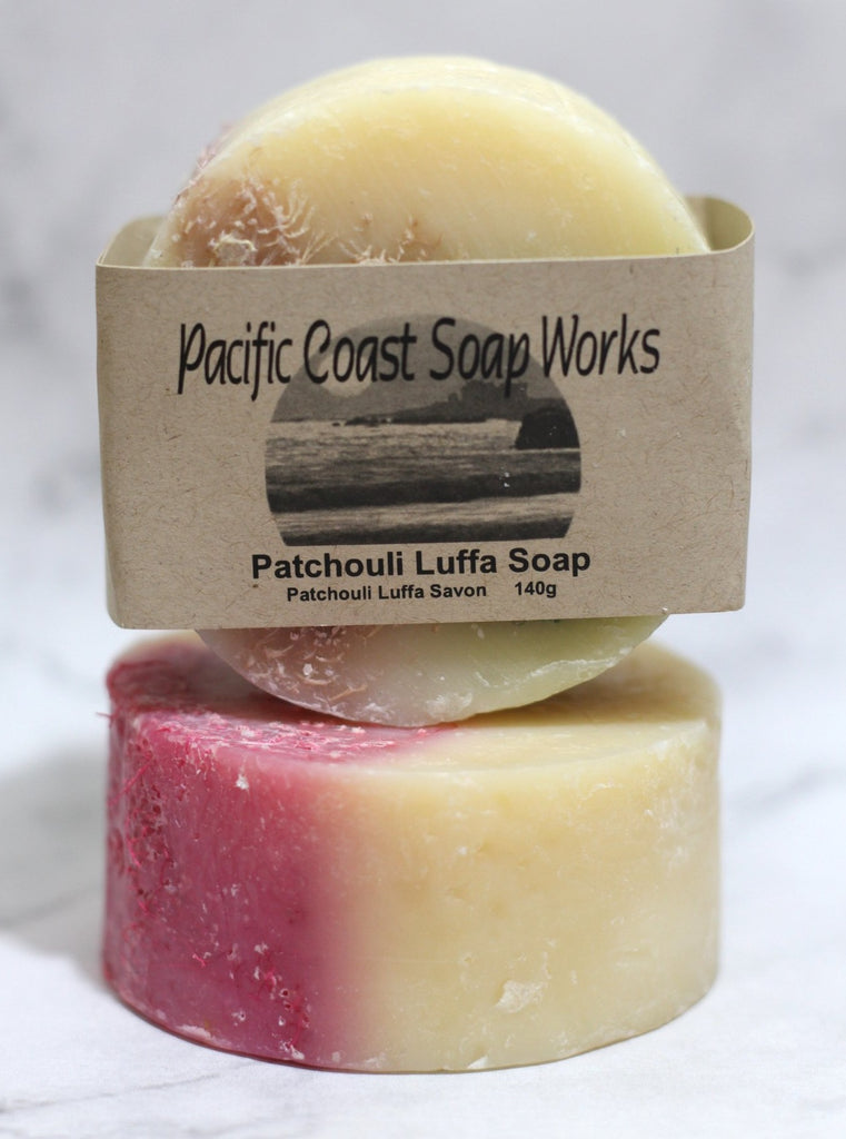 Patchouli luffa soap bar 140g