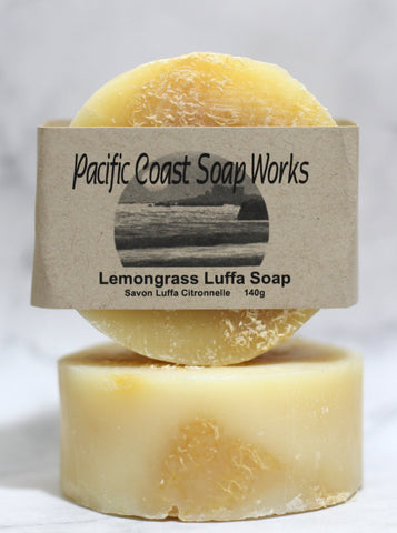 Lemongrass luffa bar 140g