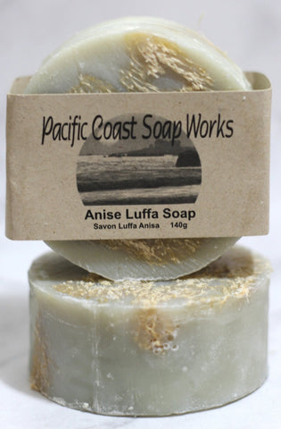 Anise luffa soap bar 140g