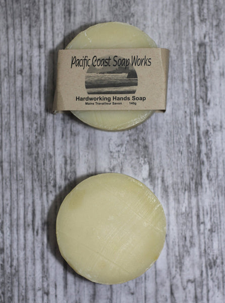 Hardworking hands pumice soap bar 140g