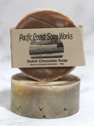 Dutch chocolate soap bar 140g