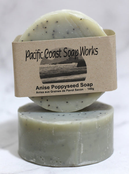 Anise poppyseed bar soap 140g