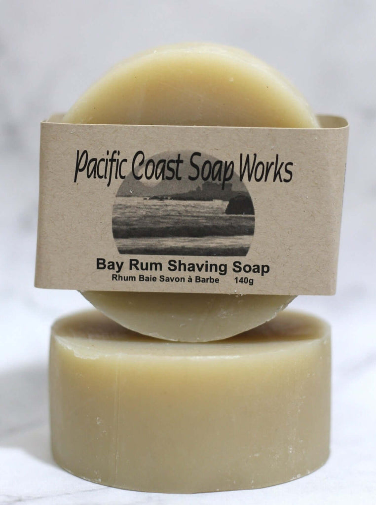 Bay rum shaving soap bar 140g