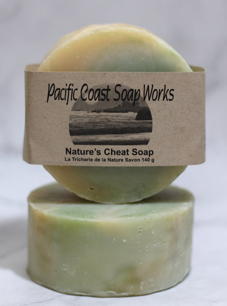Nature's cheat soap bar 140g