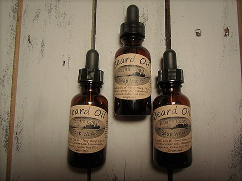 Beard Oil #1 ~ ylang ylang, fir, vetiver, cedarwood