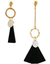 Boho Gold Long Tassels Earrings