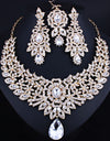 Crystal Rhinestones Jewelry Set