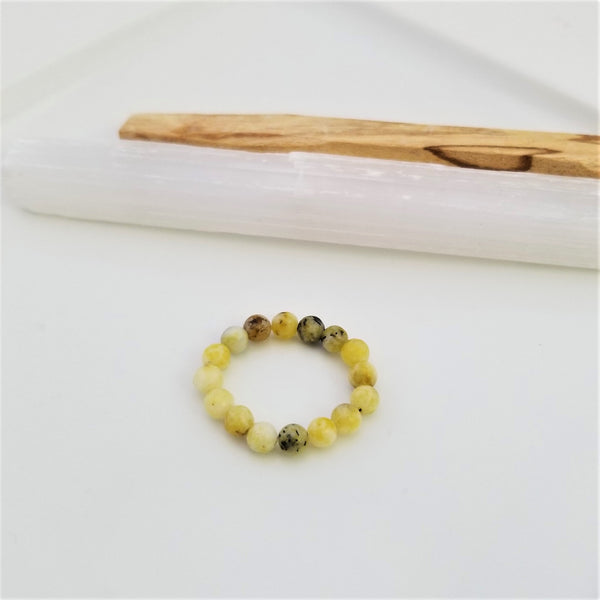 Hope Ring - Yellow Turquoise