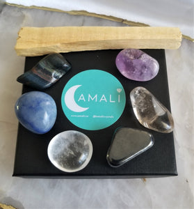 FOCUS - INTENTION SET - TUMBLED STONES