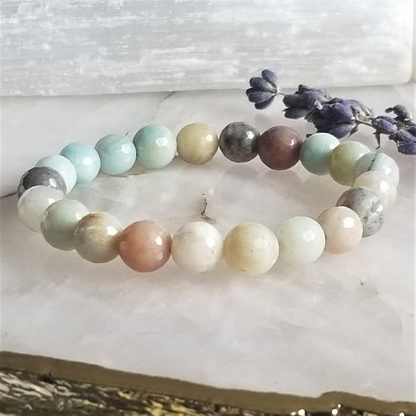 Amazonite - Mystic Coated