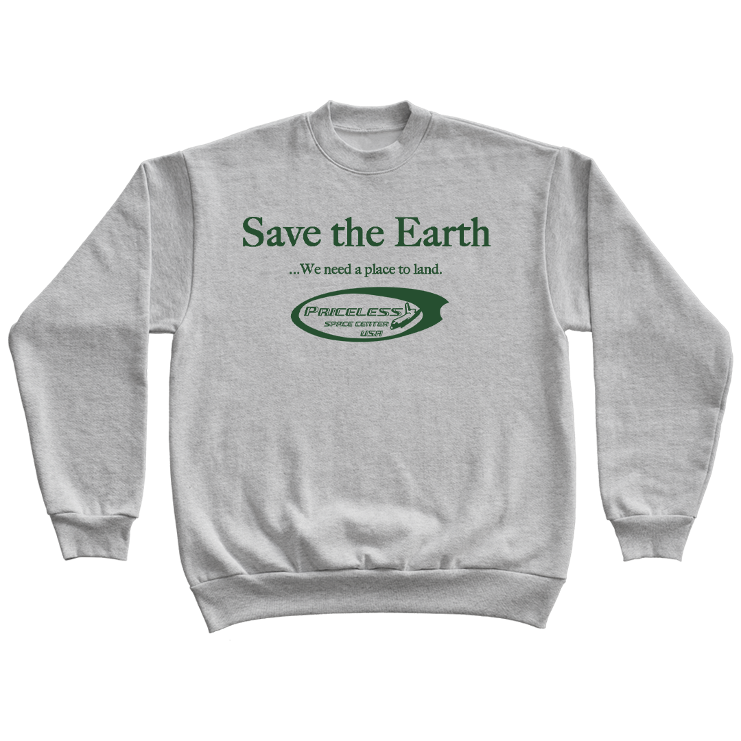 Save The Earth Crewneck