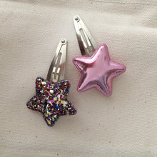 Etoile hair clips (Pink Mix)