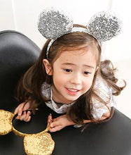 Mouse ear headband - Silver