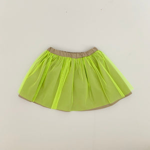 tutu skirt - neon yellow