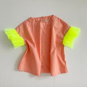 Ronda Top (neon yellow) - Girls