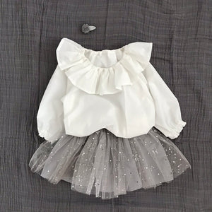 Kelly Girl Blouse (White)