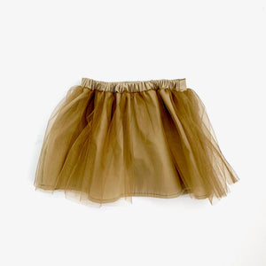 Tutu skirt - burnt gold