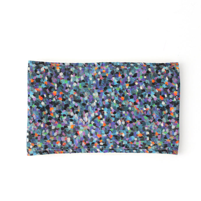 Neckwarmer in liberty Pointillism