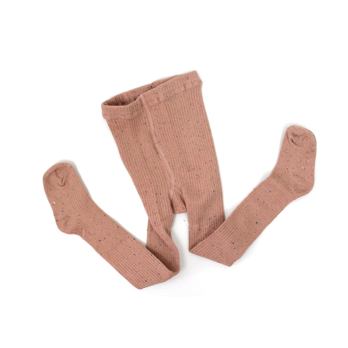Sprinkle Tights - Dusty Pink