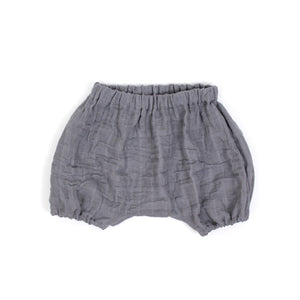 Hudson Bloomers (Charcoal Gauze) - Baby