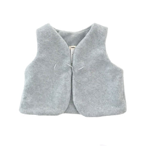 Brook Baby Vest - Light Gray
