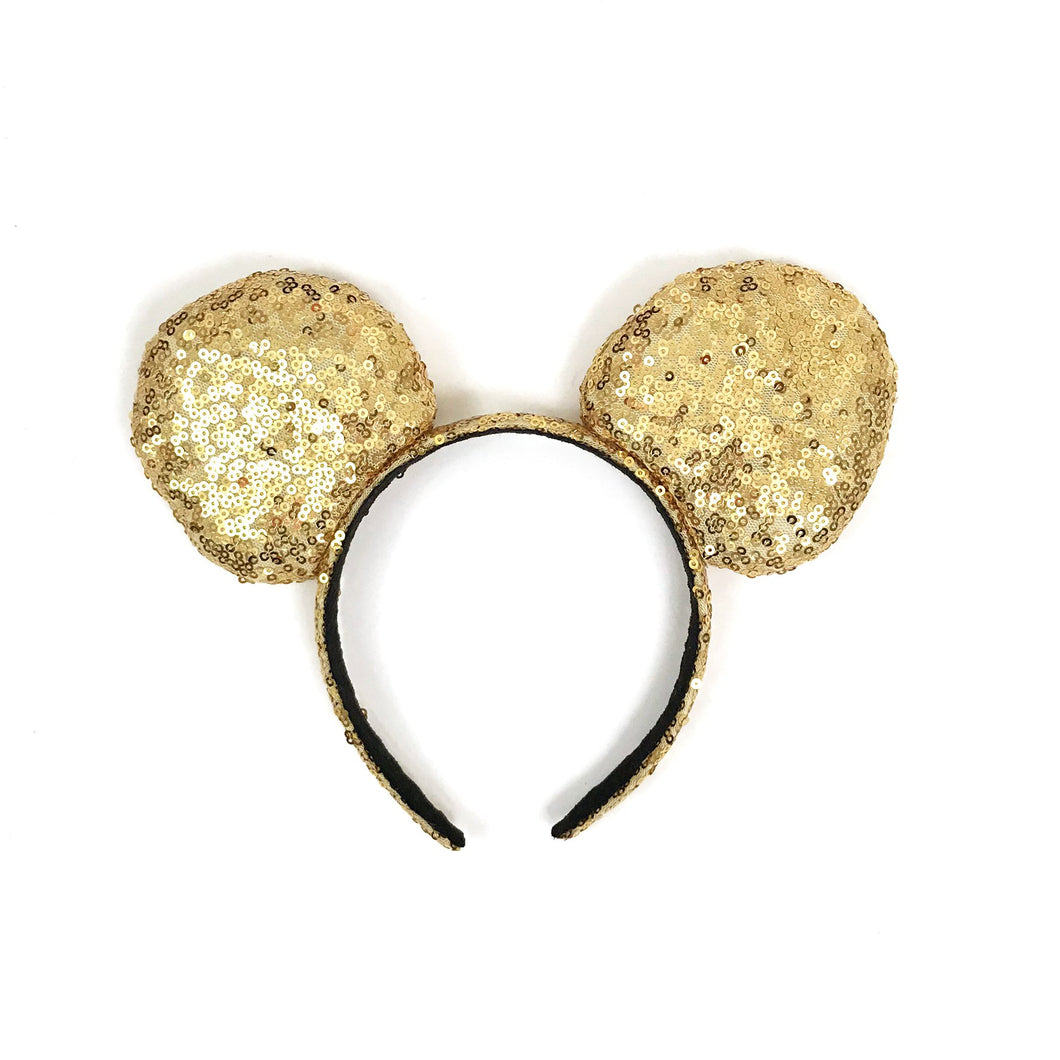 Mouse ear headband - Gold