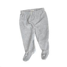 Brook Baby Footed Pants - Light Gray