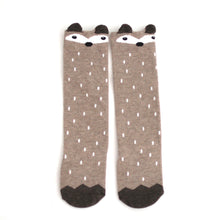 Raccoon Socks - Beige