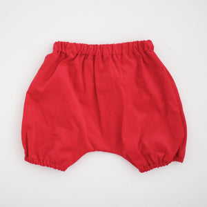 Hudson Baby Bloomers, red