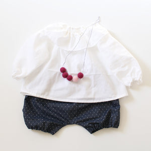 Pindot Chambray Bloomer