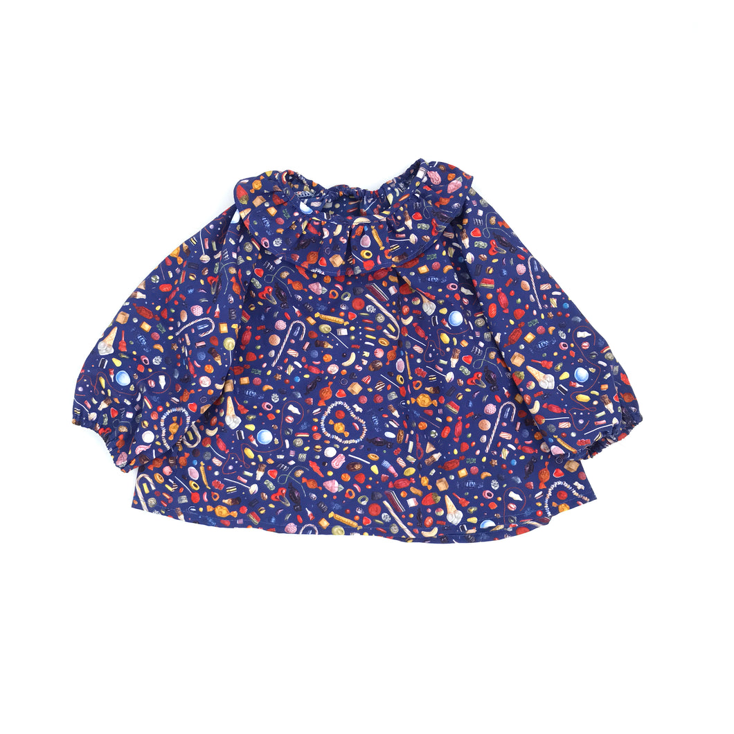 Kelly Girls Blouse, Sweets Blue
