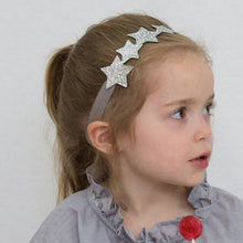 little stars headband in silver