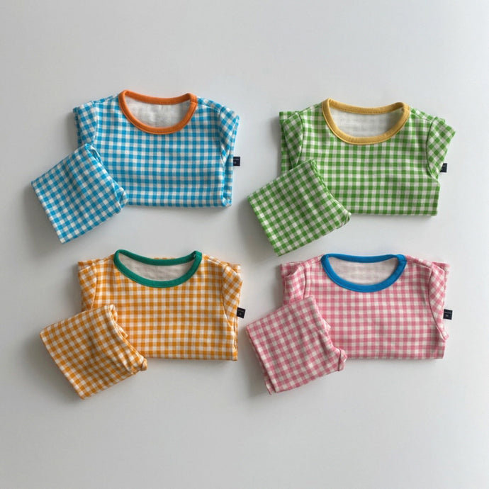 Pop Gingham PJs