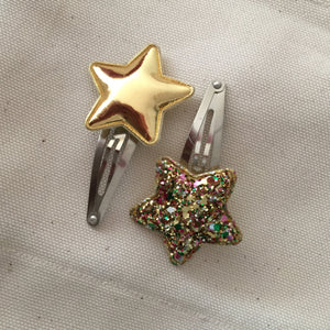 Etoile hair clips (Gold Mix)
