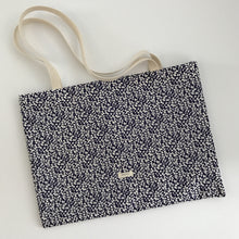 Essential Canvas Tote (Navy Floral)