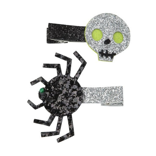 Spooky hair slides