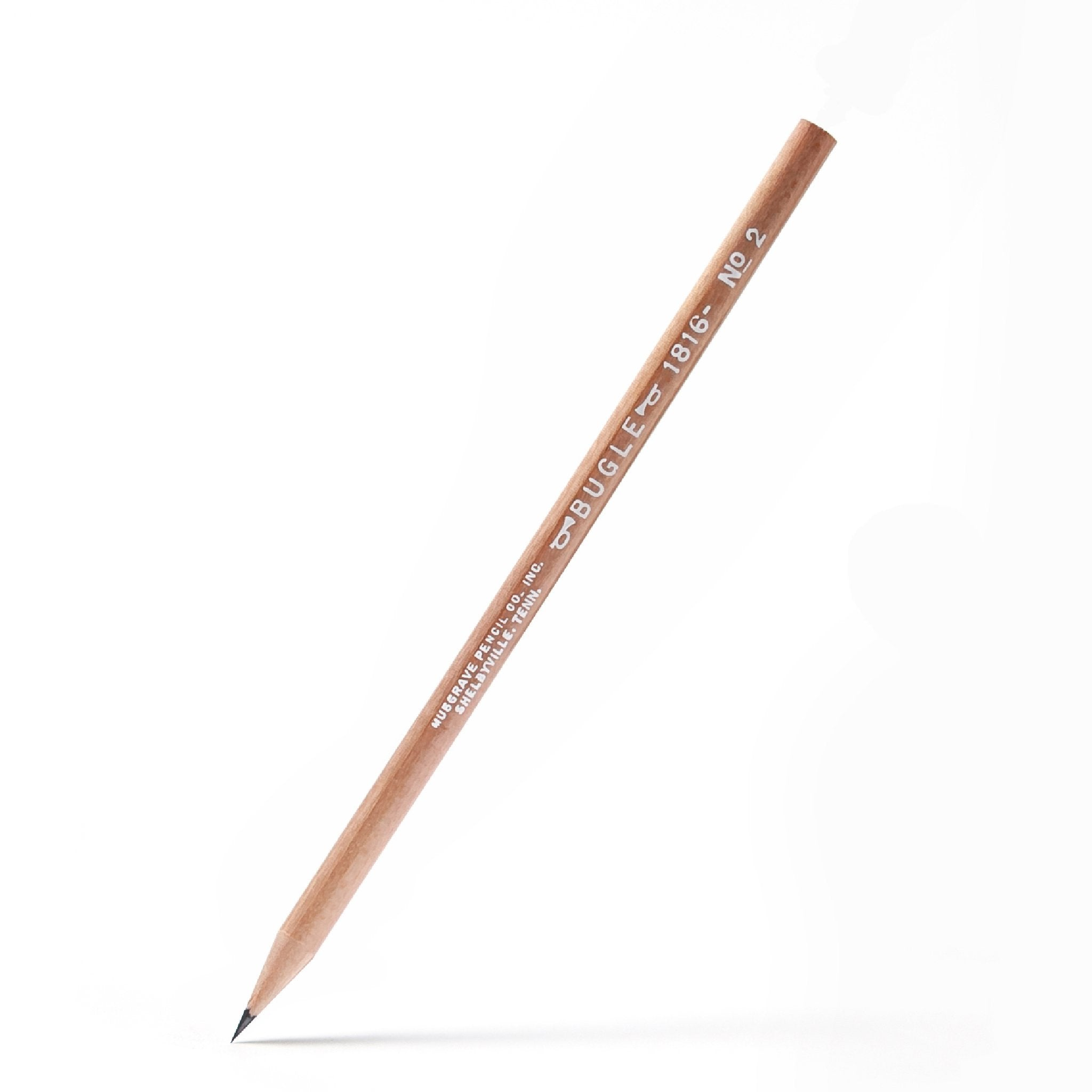 Bugle 1816 | #2 Wood-cased Round Pencil